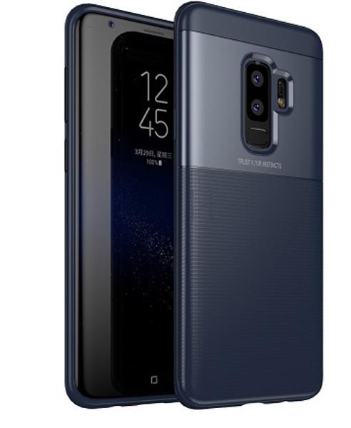 Samsung Galaxy  S9  Luxury 360 Shockproof Hybrid Case Blue