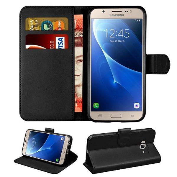 Samsung Galaxy J3  2018  Flip Leather Wallet Card Holder