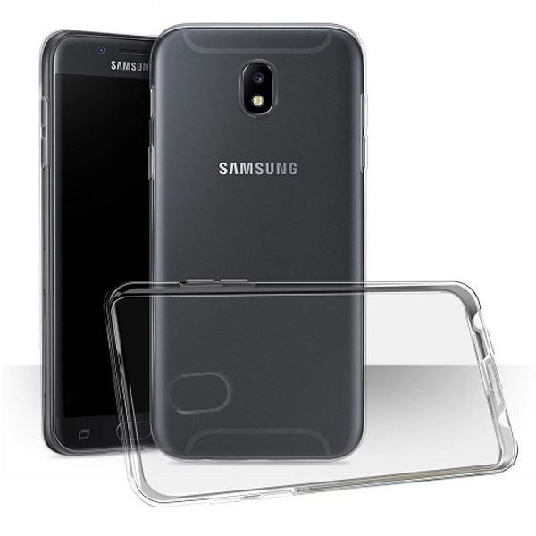 Samsung Galaxy J3 2018 Clear Gel Case TPU Back Silicone Case Cover Skin