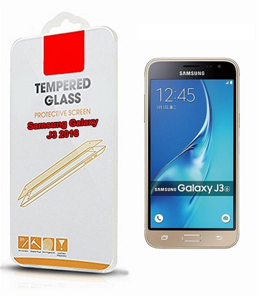 Samsung Galaxy J3 x2Tempered Glass Screen Protector