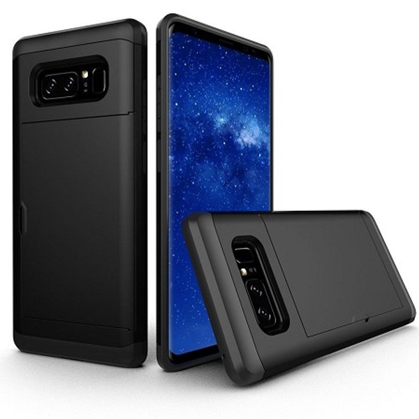 Samsung Galaxy Note 8 Hybrid Armour Hard PC Credit Card  Case