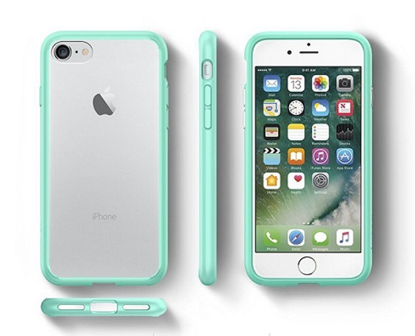 iPhone 7 Spigen Hybrid Series Mint Cases