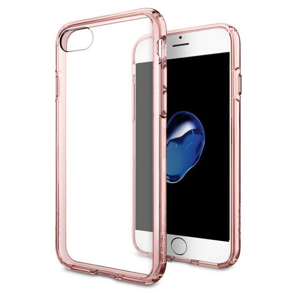 iPhone 7 Spigen Hybrid Series Rosy Crystal Cases