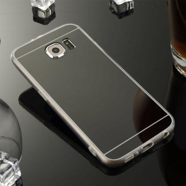 Samsung Galaxy Note3 Ultra-thin Black Silicone Mirror Case