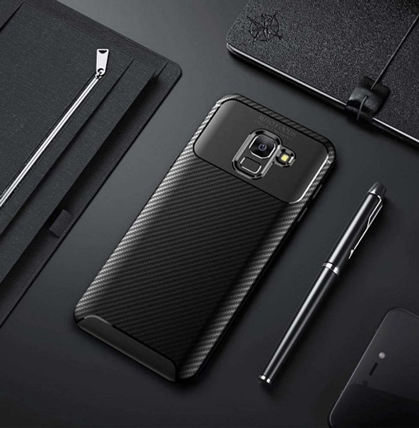 Samsung Galaxy S10 Carbon Brushed Case