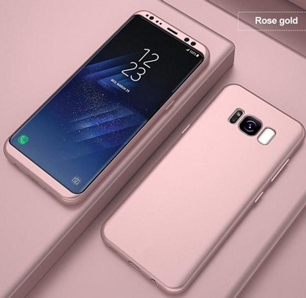 Samsung Galaxy S6 Rose Gold Ultra Slim  Bumper Case