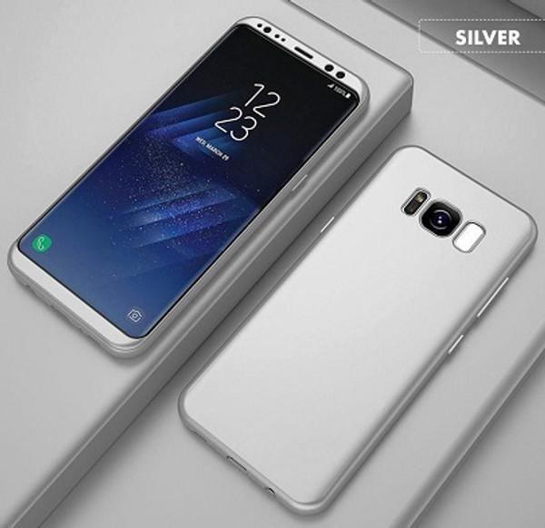 Samsung Galaxy S6 Silver Ultra Slim  Bumper Case