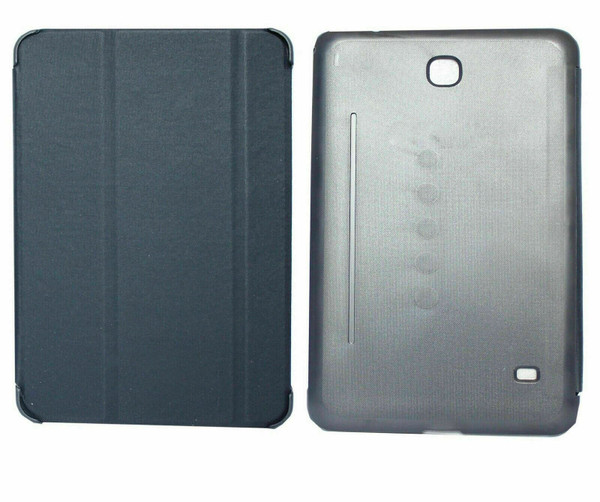 """Samsung Galaxy Tab 4 8"""" T335 T330 Blue Folding Stand Smart Cover"""