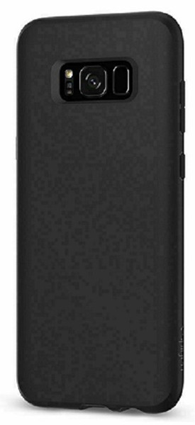 Samsung Galaxy S8  Spigen Liquid Crystal Cover - Matte Black