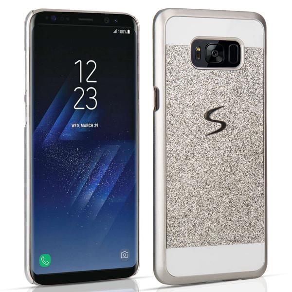 Samsung Galaxy S8 Flash Diamond Case - Silver