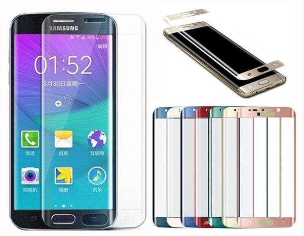 Samsung Galaxy S8 Full Curved Tempered Glass Gold