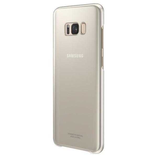 Samsung Galaxy S8 Gold Clear Case
