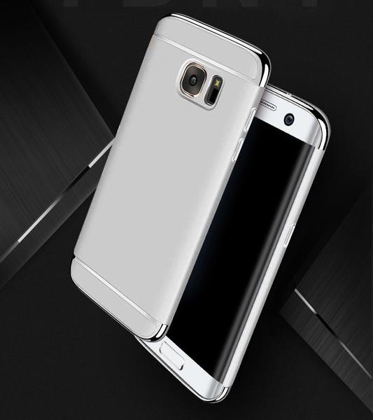 Samsung Galaxy S8 Luxury Ultra Slim Shockproof Bumper Case Silver