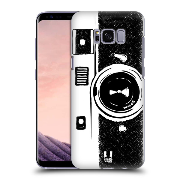 Samsung Galaxy S8 Old Style Camera Sketch Design for Backcase