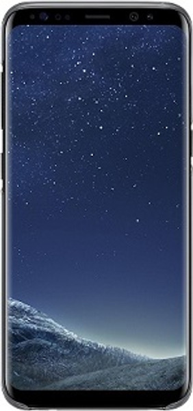 Samsung Galaxy S8 Plus Black Clear Case