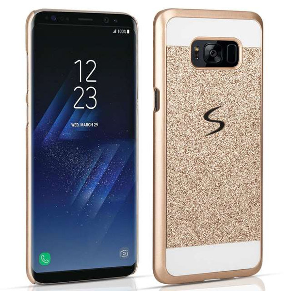 Samsung Galaxy S8 Plus Flash Diamond Case - Gold