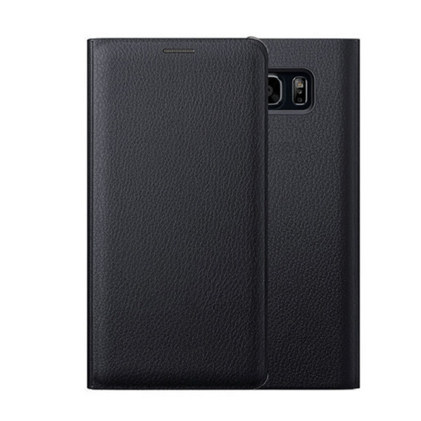 Samsung Galaxy S8 Plus Leather Wallet Card Holder Cover - Black