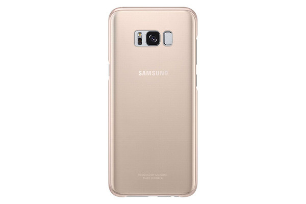 Samsung Galaxy S8 Plus Pink Clear Case