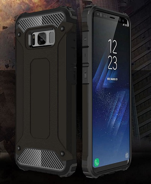 Samsung Galaxy S8 Plus Rugged Armor Hybrid Slim Hard Case