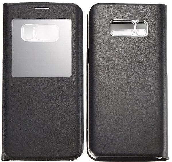 Samsung Galaxy S8 Plus Window View Case Cover - Black