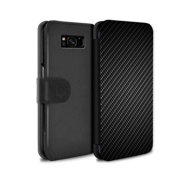 Samsung Galaxy S8 Plus/G955/Carbon Fibre Effect/Pattern Grey