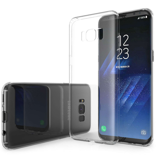 Samsung Galaxy S8 Ultra Thin Gel Case - Clear