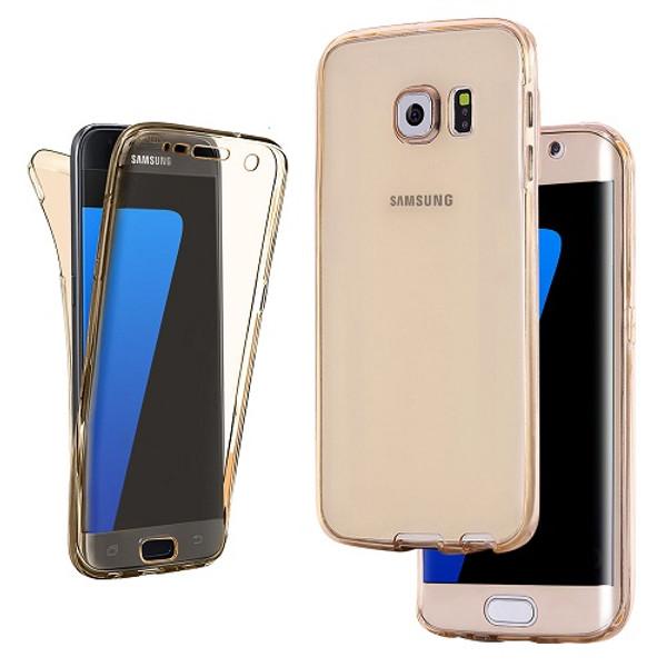 Samsung Galaxy S9 Gold UltraThin Slim 360 TPU Gel Case