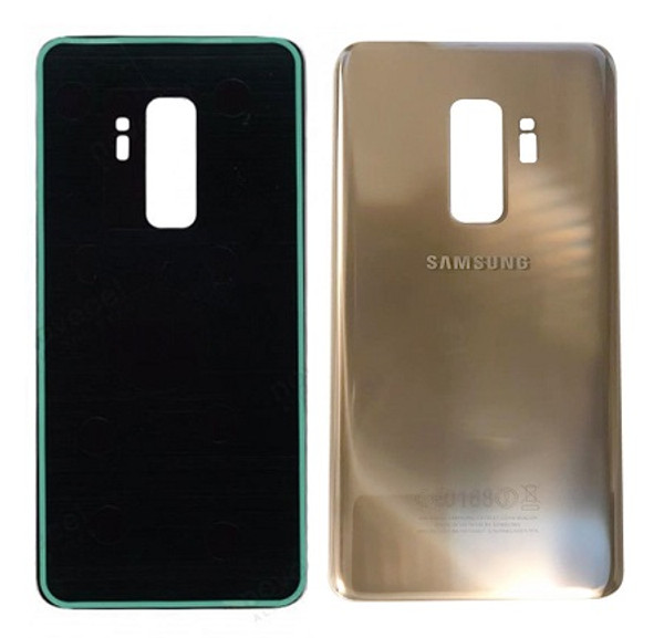 Samsung Galaxy S9 Plus Back Glass Housing Replacment Gold Cover