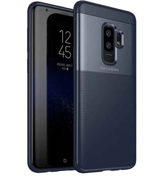 Samsung Galaxy S9 Plus Luxury 360° Shockproof Hybrid Case Blue