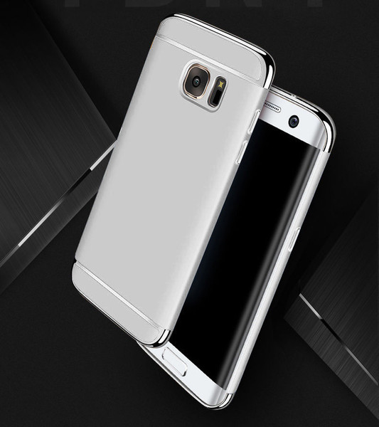 Samsung Galaxy S9 Plus Luxury Ultra Slim Shockproof Bumper Case Silver