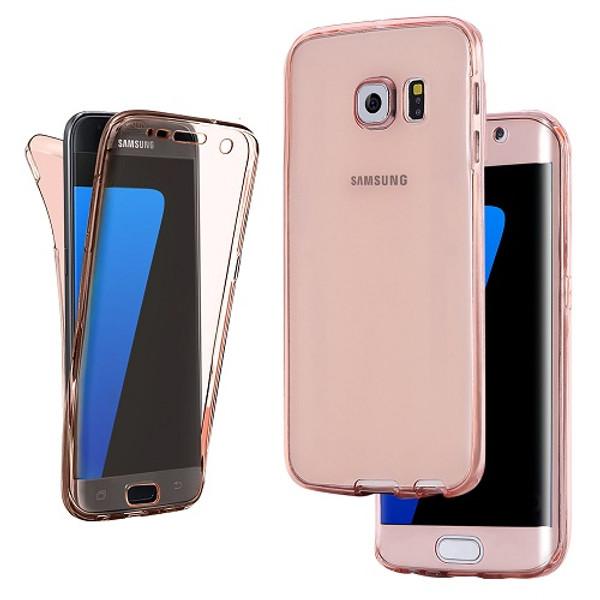 Samsung Galaxy S9 Rose Gold UltraThin Slim 360 TPU Gel Case