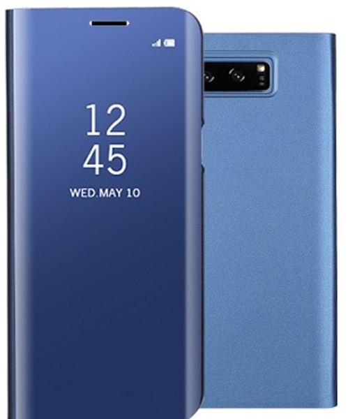 Samsung Galaxy S9 Smart Mirror Window View Flip Stand Case Blue