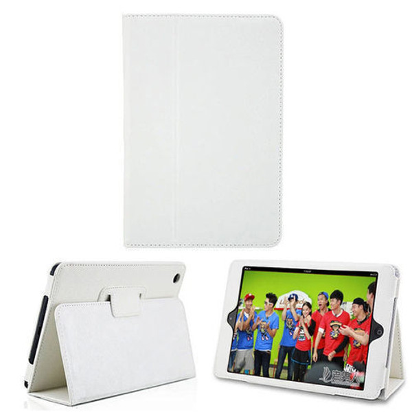 Samsung Galaxy Tab 3 10.1 White Leather Tablet Stand Flip Cover