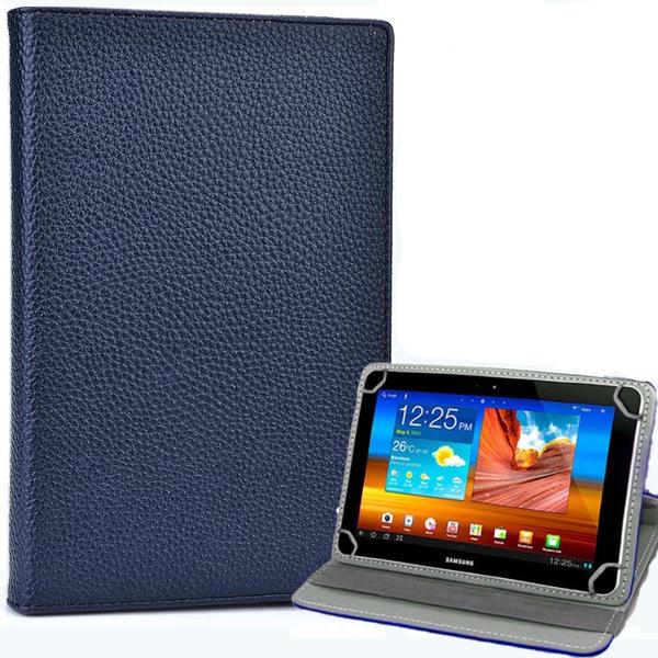 Samsung Galaxy Tab 3 7.0 LITE (T110/T111) Blue Folding Folio 360 Rotating Stand  Case