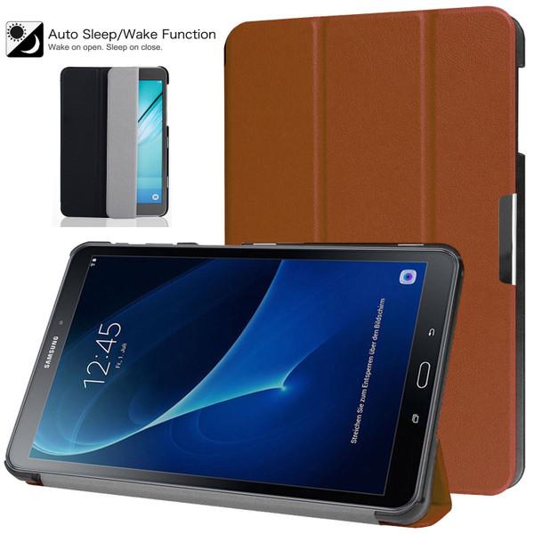 Samsung Galaxy Tab 4 Nook 10.1 (T530)  Black  Smart  Strip Magnetic Shell Case