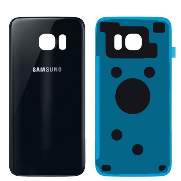 Samsung S6 Edge+ Replacement Glass Housing Battery Back Cover Sapphire Black