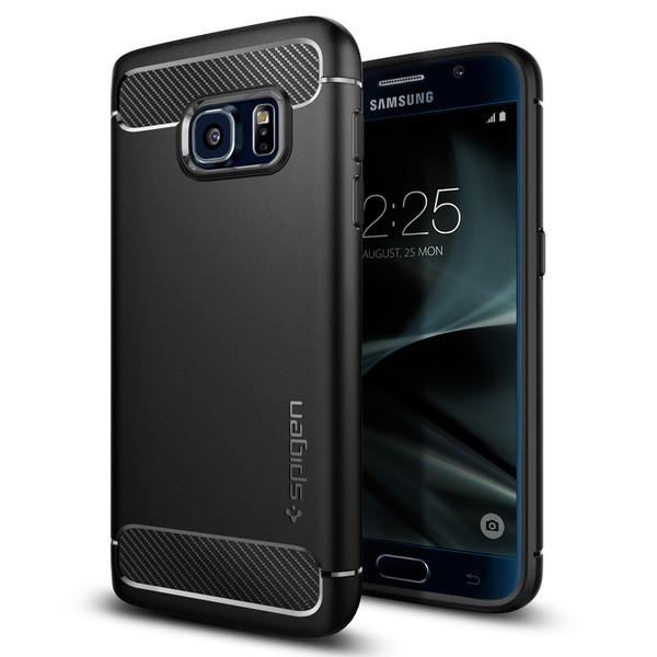 Spigen Samsung Galaxy S7 Edge Case Rugged Armor Black