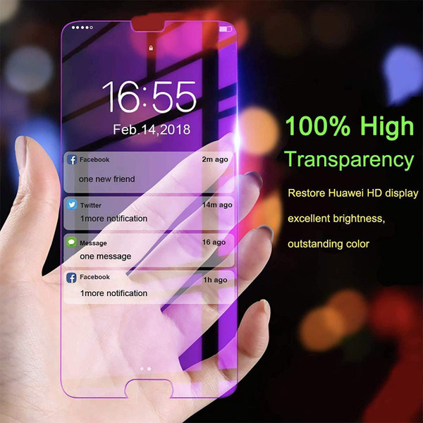 Tempered Glass Screen Protector For Huawei P20 Pro