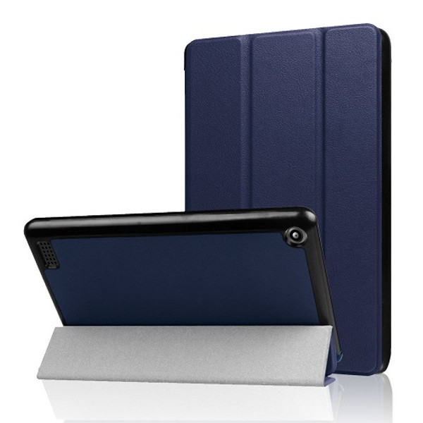 Amazon Kindle Fire HD 10  7th Gen Magnetic Slim Leather Smart Case