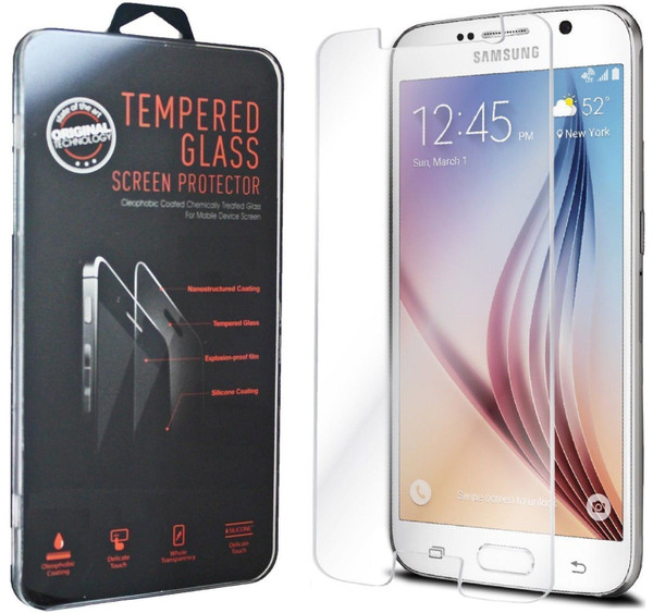 Tempered Glass Screen Protector for Samsung Galaxy S6 Edge Plus