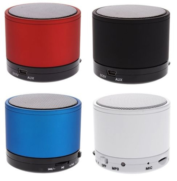 Wireless Mini Bluetooth Portable Speaker for iphone ipad tablet mp3 - Red