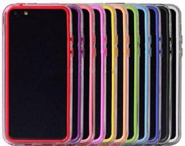 iPhone 5C Soft Case Bumpers Frame Silicone Case