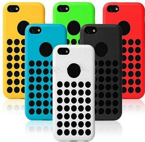 iPhone 5C Silicone Gel Rubber Case Cover