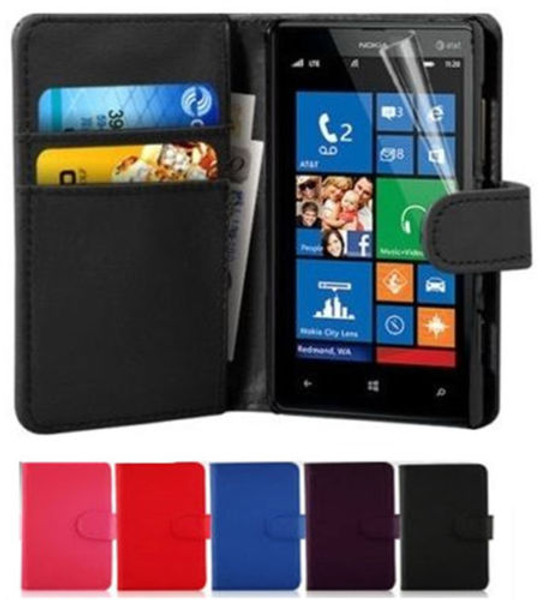 Nokia Lumia Wallet Leather Case Cover