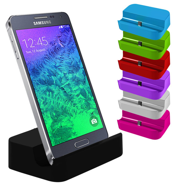 Micro USB Desktop Charging Dock Stand Charger For Mobile Phones