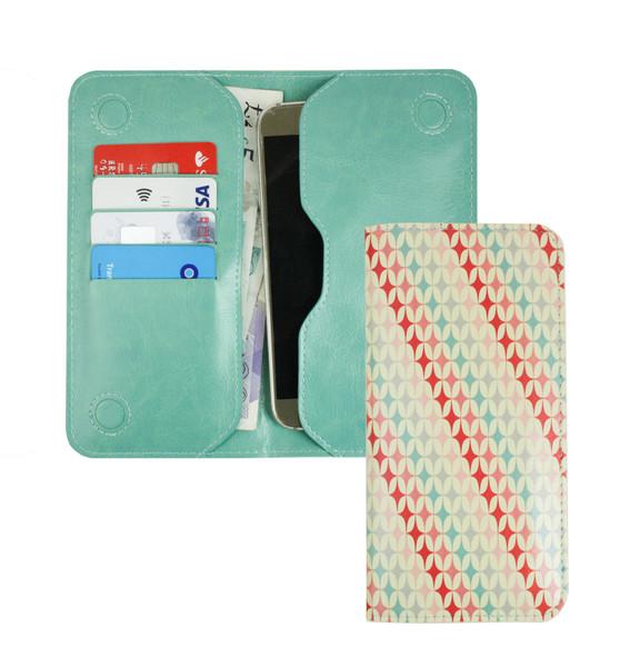 Stk Ace Plus Premium Patterned Magnetic Slim Pink Stars Case