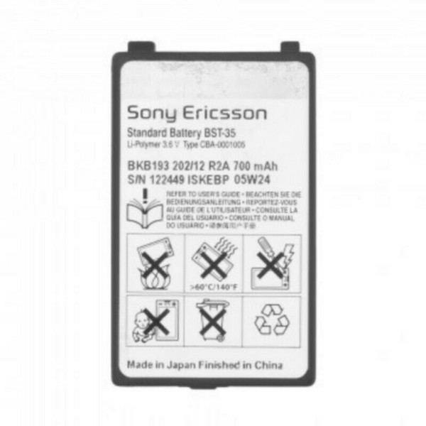 Sony Ericsson BST-35 Mobile Phone Battery