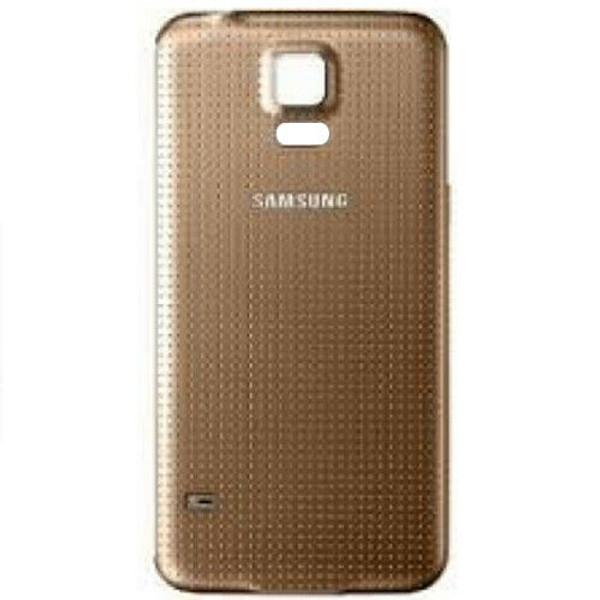 Samsung Galaxy S5 MINI G800F Replacement  Gold Housin  Battery Back Cover