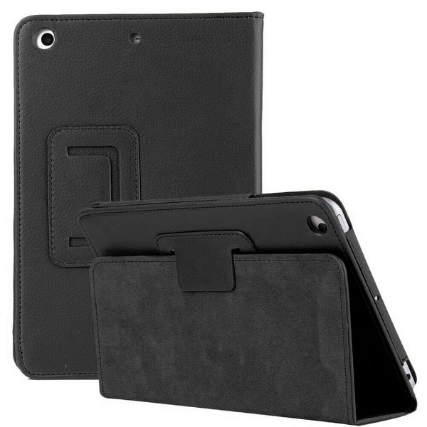 iPad  9.7(2018) Black Smart Stand Leather Magnetic Flip Case