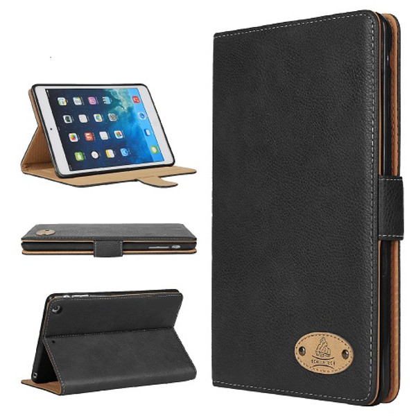 Apple iPad Air 3 10.5(2019)  Soft Leather Wallet Smart Case